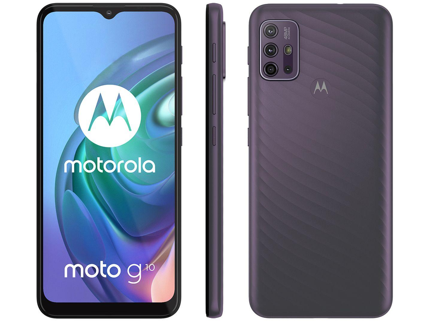 Smartphone Moto G10 - Motorola - Cinza Aurora