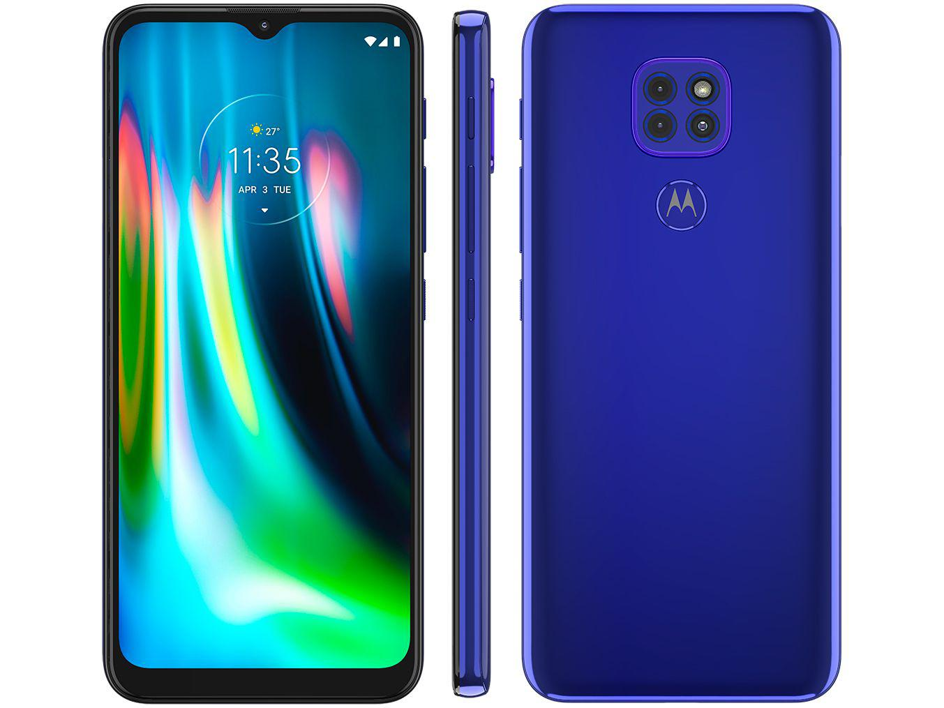Smartphone Moto G9 Play - Motorola - Azul