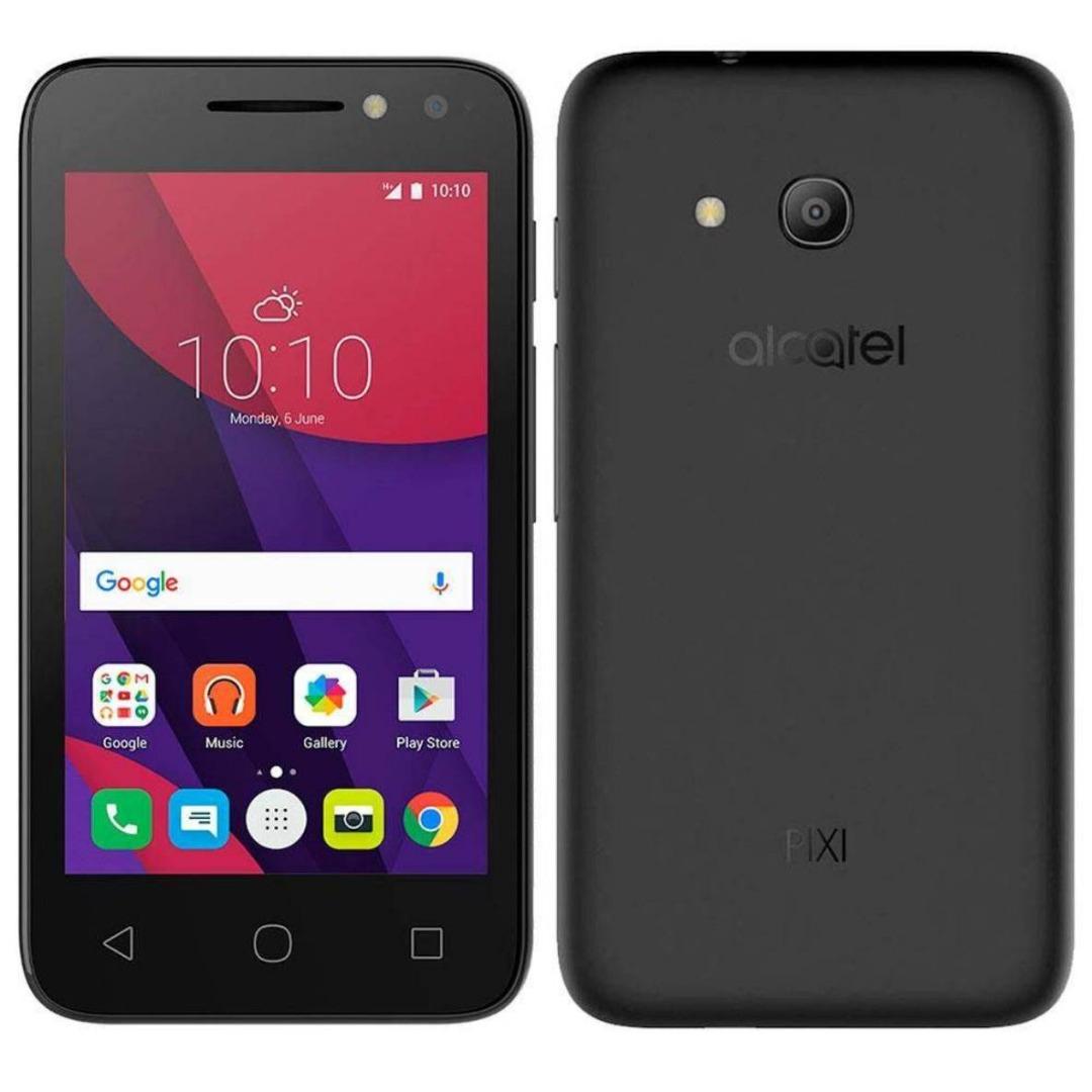 Smartphone Pixi4, Dual Chip, Preto, Tela 4