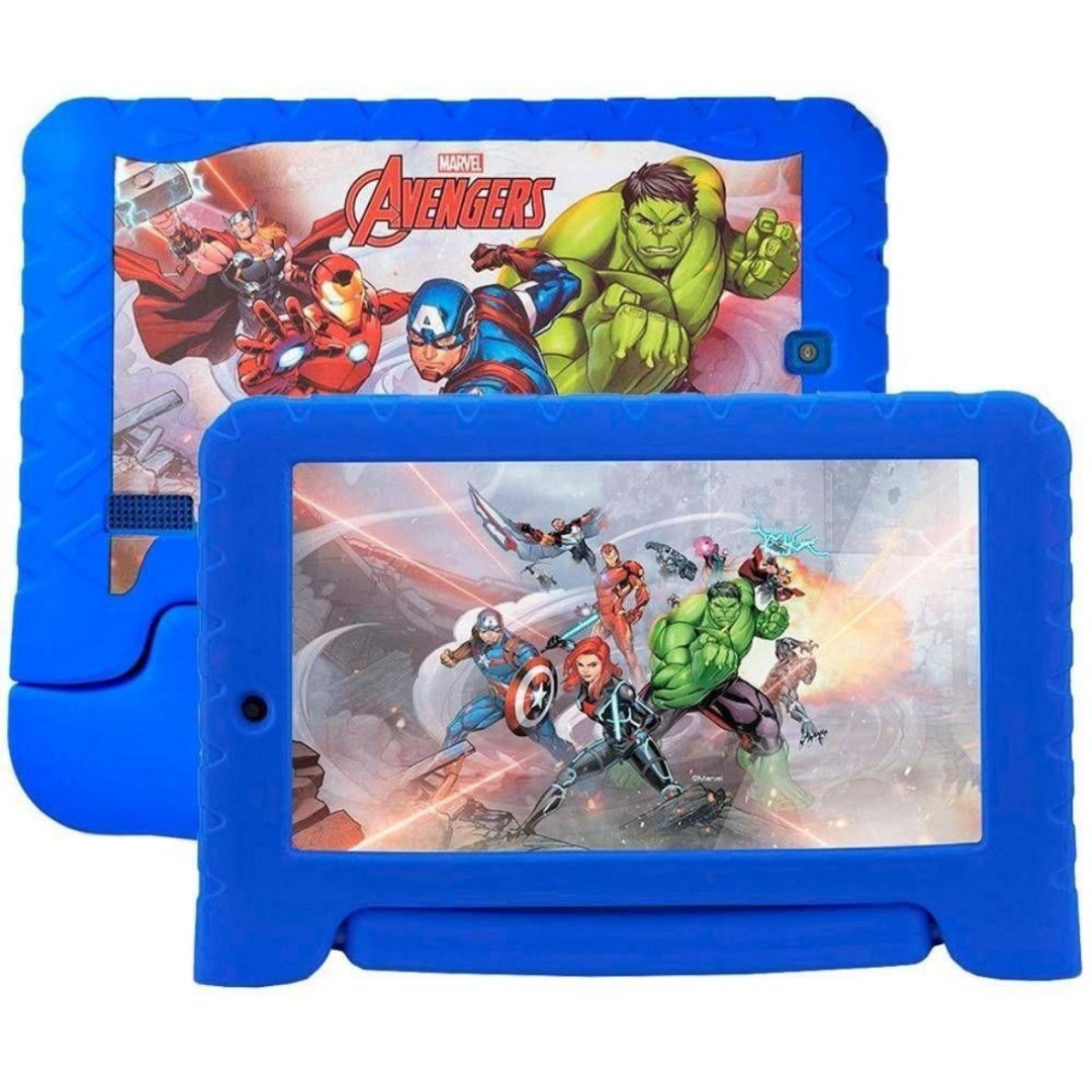 Tablet Disney Avengers Plus 8GB 7 - Wi-Fi Android 7.0 - Multilaser