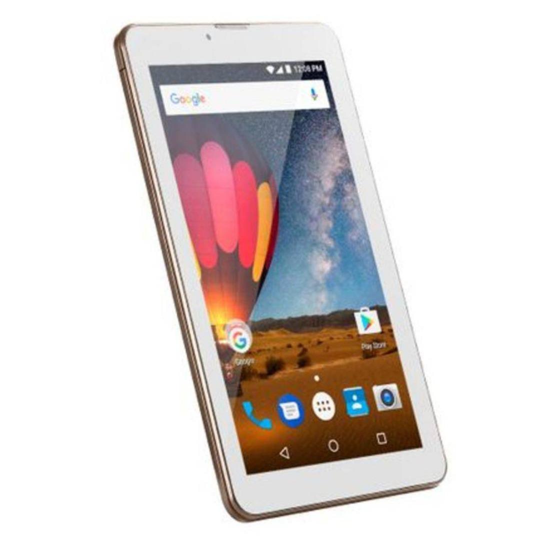 Tablet M7 3G Plus Quad Core 1GB RAM Câmera Wi-Fi Tela 7 Memória 8GB Dual Chip Dourado - NB272 - Multilaser
