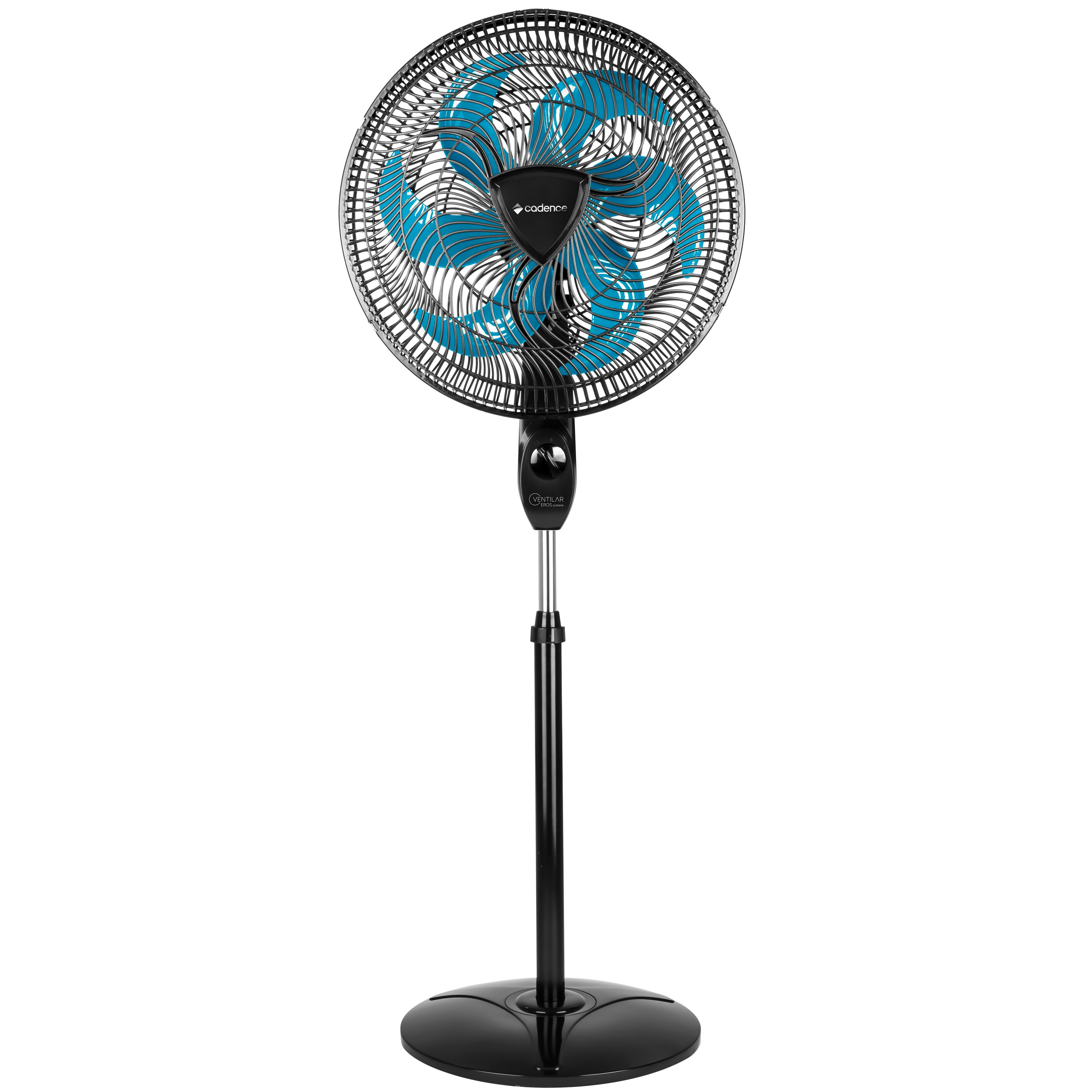 Ventilador de Coluna 220V 6 pás 40cm Ventilar Eros Supreme VTR865 Preto - Cadence